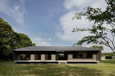 建物外観 (佐倉の別荘 子育て世代の週末住宅)