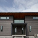 佐倉の別荘 子育て世代の週末住宅の写真 エントランス外観