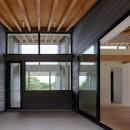 佐倉の別荘 子育て世代の週末住宅の写真 エクステリアダイニング