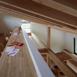 佐倉の別荘 子育て世代の週末住宅 (ロフトのファミリールーム)