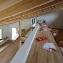 佐倉の別荘 子育て世代の週末住宅の写真 ロフトのファミリルーム