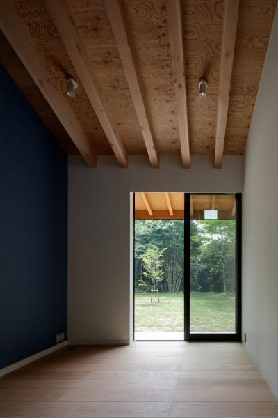 子供部屋 (佐倉の別荘 子育て世代の週末住宅)