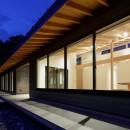 佐倉の別荘 子育て世代の週末住宅の写真 建物外観(夜景)