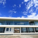 水平線の家 大海原の風景と暮らす家の写真 建物外観