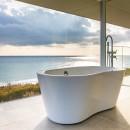 TAPO 富岡建築計画事務所の住宅事例「水平線の家 大海原の風景と暮らす家」