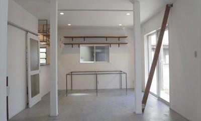 多用途なオープンスペースの家