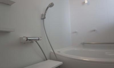 多用途なオープンスペースの家 (浴室)