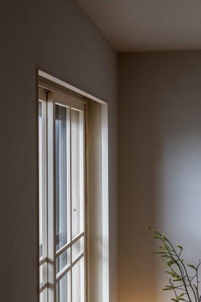 盛岡の家 (リビングの窓)
