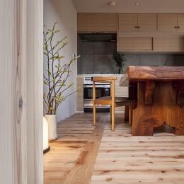 盛岡の家-ダイニングキッチン