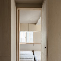 盛岡の家 (寝室)