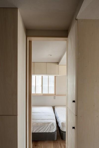 寝室 (盛岡の家)