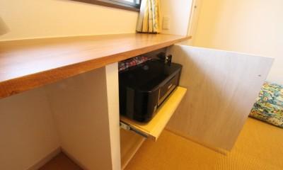 自然素材でハワイアン&充実した収納プラン (洋室)