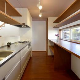 『七瀬中町の家』 (キッチン)