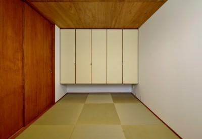 和室 (『七瀬中町の家』)