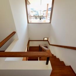 『七瀬中町の家』 (階段)