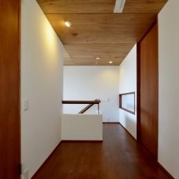 『七瀬中町の家』 (2階ホール)