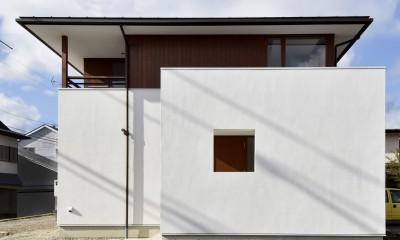 『七瀬中町の家』