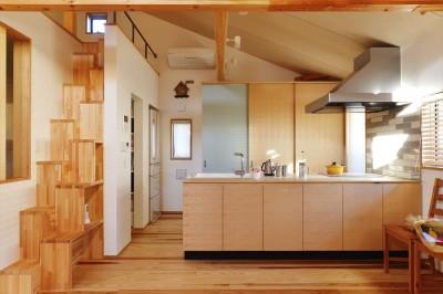 キッチン (新築_K様邸_大工がつくる大工の家 ~チームワークで叶えたこだわりの二世帯住宅~)