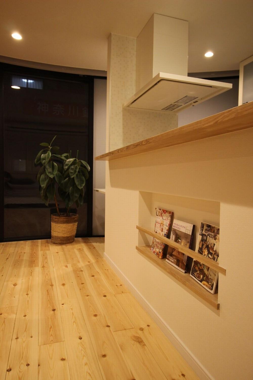 自然素材ショールーム (キッチン)