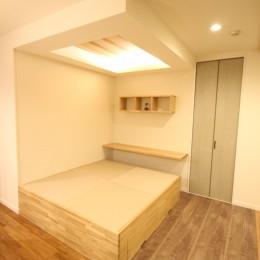 自然素材ショールーム (上り畳)