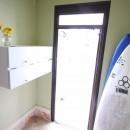 オーダーメイドで自分たちらしい暮らしを実現!湘南の明るい住まい♪の写真 玄関
