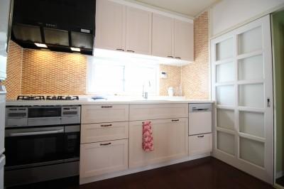 キッチン (オーダーメイドで自分たちらしい暮らしを実現!湘南の明るい住まい♪)