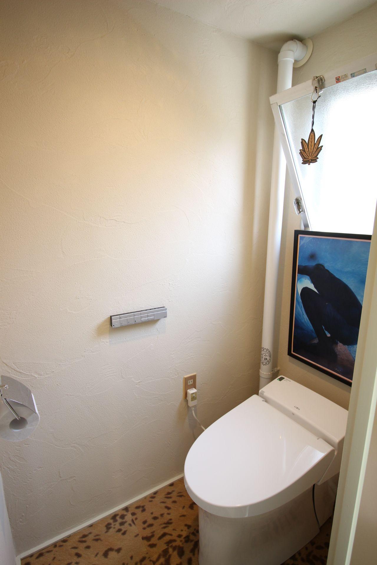 バス/トイレ事例:トイレ(オーダーメイドで自分たちらしい暮らしを実現!湘南の明るい住まい♪)