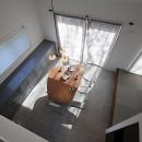 S邸の写真 天井が高く開放感のあるダイニング