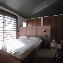 S邸の写真 収納を考えつくされたベッドルーム