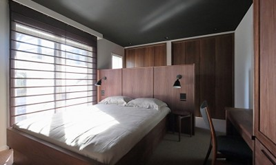 S邸 (収納を考えつくされたベッドルーム)