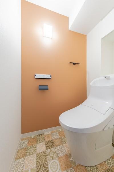トイレ (~ 費用を抑えつつ素敵で快適な暮らしに ~ 築21年マンション×リノベーション ~)