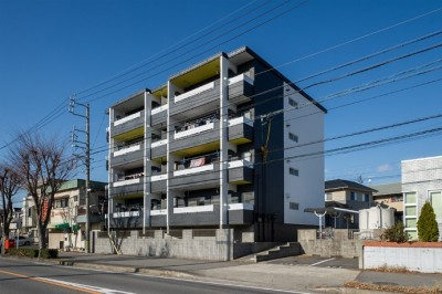 roomie note MIDORIGAOKA/シンプルモダンなマンション (外観)