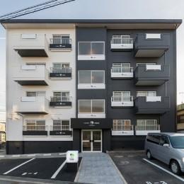 roomie note MIDORIGAOKA/シンプルモダンなマンション (外観-正面)