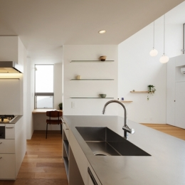 樽町の家 (キッチン)