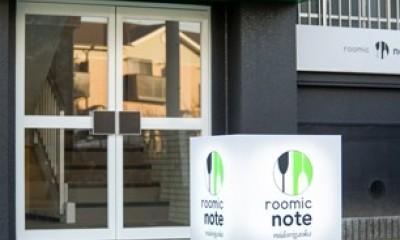 roomie note MIDORIGAOKA/シンプルモダンなマンション (玄関)