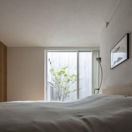 代々木上原の家 (寝室)