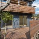 五つ葉の家|狛江市(注文住宅)の写真 ウッドデッキとバルコニー