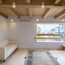 五つ葉の家|狛江市(注文住宅)の写真 リビング