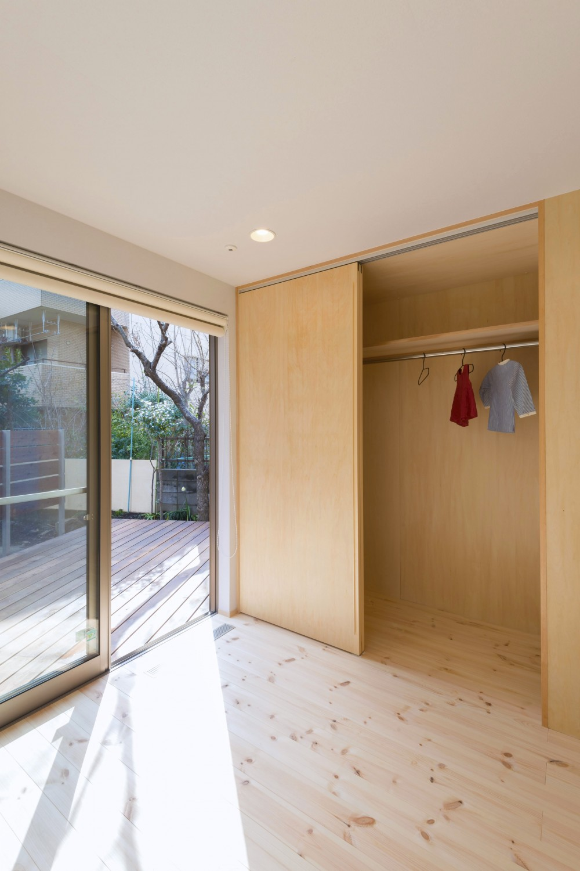 五つ葉の家|狛江市(注文住宅) (造作収納)