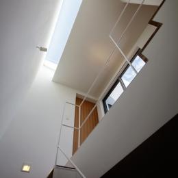 樽町の家 (階段)