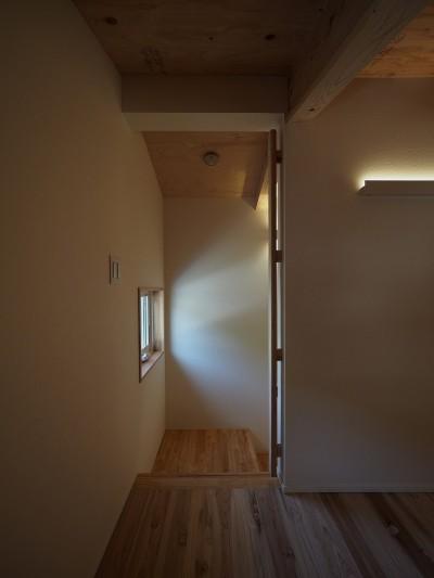 階段 (富高の家)