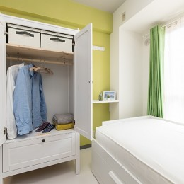 男性単身者向けのマンション/狭さを感じさせないワンルーム