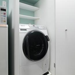 外国人にも人気のマンション/落ち着いたワンルーム (洗濯機収納)