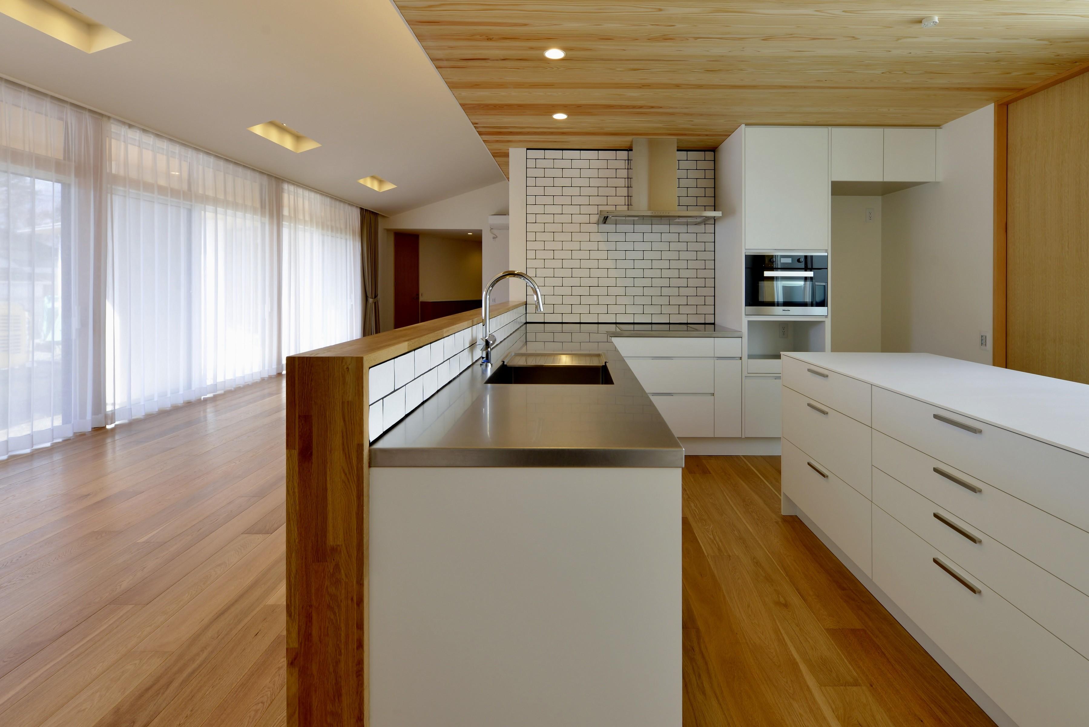 キッチン事例:キッチン(『往生地の家』)