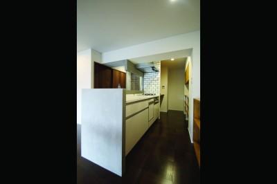 キッチン (『ON OFF』の空間で、こだわり抜いた俺流の暮らしを。)