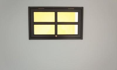 ミッドセンチュリースタイル (室内窓)