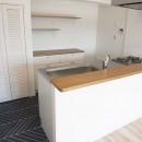 ミッドセンチュリースタイルの写真 キッチン