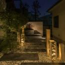 宵宴の家の写真 アプローチ