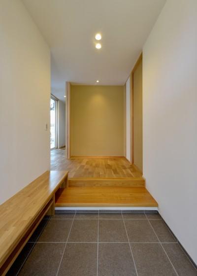 玄関2 (『往生地の家』)