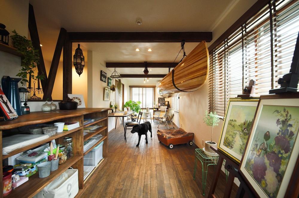 ペットに優しい室内プラン (愛犬と楽しむ趣味の部屋)